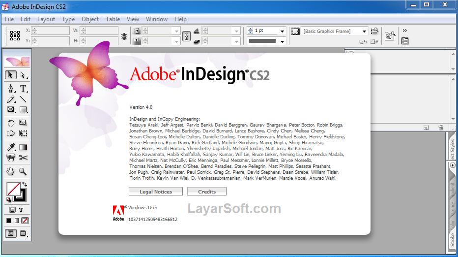 InDesign CS2 Full Version gratis