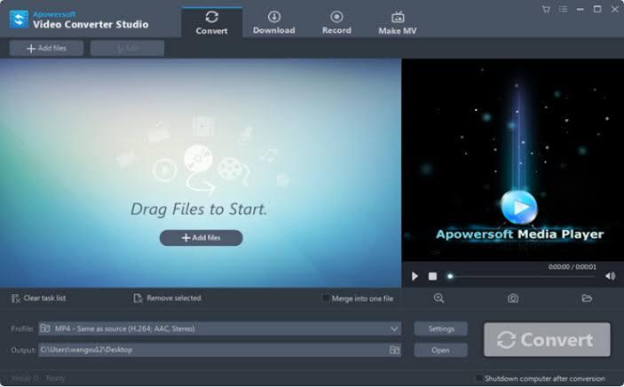 Apowersoft Video Converter Studio Full Version