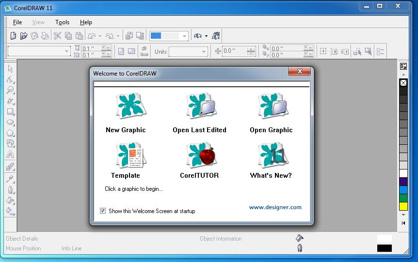Coreldraw 11 with serial key